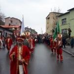 Çukurca'da polis ve jandarmalı mehteran yürüyüşü!