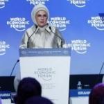Emine Erdoğan, Dünya Ekonomik Forumunda 'Sıfır Atık'ı anlattı