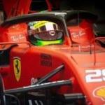 12 yıl sonra Ferrari kokpitinde bir Schumacher!