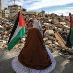 Evi bombalanan Gazzeli gelin Heniyye'nin evinden çıktı!