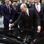 Putin, Türk şirketinin inşa ettiği Mercedes fabrikasına gitti