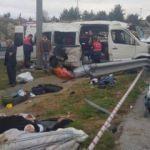 Mersin'de korkunç kaza! Ölü ve çok sayıda yaralı var