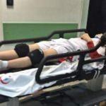 Voleybol maçında görünmez kaza: 2 yaralı