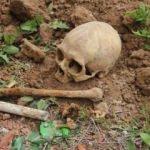 İnşaat temelinden kafatası ve insan kemikleri çıktı