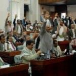 Meclise iç savaş engeli! İlk kez toplandılar