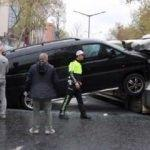 İstanbul'da akılalmaz kaza! Ok gibi saplandı