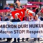 Macron'un 24 Nisan kararına tepki! AİHM önünde toplandılar