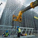 Avro Bölgesi'nde inşaat üretimi şubatta arttı