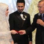 Başkan Erdoğan nikah şahidi oldu