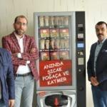 """Gaziantepli girişimcilerden """"katmer"""" otomatı"""