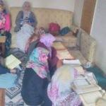 Köydeki kadınlar için Kur'an-ı Kerim kursu