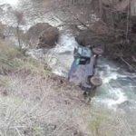 Polis özel harekat aracı dereye yuvarlandı: 6 polis yaralı