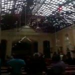Sri Lanka'da kilisedeki patlama anı kamerada!