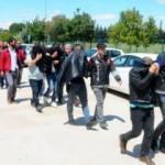 600 polisli uyuşturucu operasyonunda yakalanan 43 şüpheli adliyede