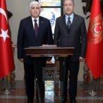 Genelkurmay Eski Başkanı Org. Necdet Özel, Akar'ı ziyaret etti