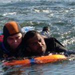 İtfaiyeden denizde nefes kesen kurtarma operasyonu