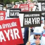 CHP ve HDP'den işçilere istifa baskısı