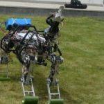Konya'da 4 ayaklı arazi robotu üretildi