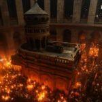 Kudüs'te ayin düzenlendi! Kilise kapısını Müslümanlar açtı
