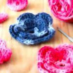 Tığ işi çiçek motifi nasıl yapılır? Pratik çiçek motifi yapımı