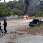 'Araçta ceset var' ihbarı yapıp, bombayı patlattılar: 2 polis yaralı