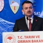 Bakan Pakdemirli açıkladı: 2019 bütçesi 600 milyon avro