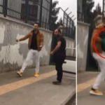 Diyarbakır'da yol ortasında şiddet! Böyle bir şey olamaz