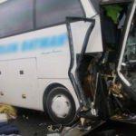 Yolcu otobüsü ile TIR çarpıştı! Yaralılar var