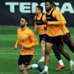 Galatasaray'da Marcao takımdan ayrı çalıştı