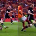G.Saray'ın golünde Beşiktaş'tan büyük isyan!