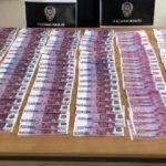 Gürcü şüpheli, sahte eurolarla yakalandı