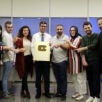 Kanal 7 Youtube kanalına altın plaket ödülü