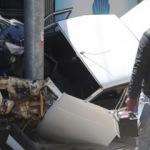 Kaza sonrası sürücüden şaşırtan hareket