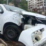 MHP MYK üyeleri kaza yaptı: 3 yaralı