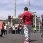 Taksim'de tek kale maç! 1 Mayıs'ı fırsata çevirdiler