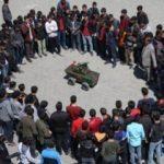 Vanlı öğrenciler mini tank yaptı