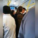 Yer vermeyen gence tokat attı, otobüs karıştı!