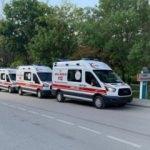 Aksaray'a 9 ambulans daha!