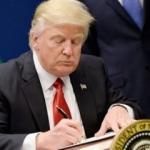 Büyük şok! Trump imzalıyor