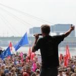 AP seçimleri öncesi Almanya sokakta!