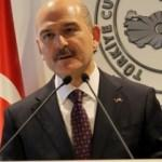 Bakan Süleyman Soylu'dan pankart açıklaması