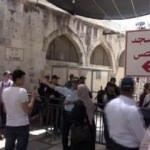 DHA muhabiri adım adım takip etti! Filistinlilere 'Cuma' eziyeti