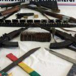 Diyarbakır'da silah kaçakçılarına baskın