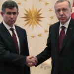 Erdoğan, Metin Feyzioğlu'nu kabul etti
