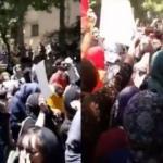 İran'da başörtüsü protesto edildi