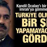 Kandil Öcalan'ı bir kez daha İmralı'ya gömmek istedi