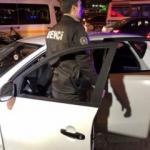 """Polisin """"Dur ihtarına"""" uymayan şüpheliler kaza yaptı"""