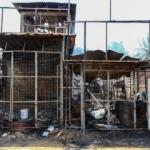 Sri Lanka'da Müslümanlara ait fabrika ateşe verildi!