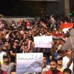 Irak'ta binlerce kişi sokağa döküldü!
