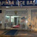 AK Parti ilçe başkanlığına EYP'li saldırı